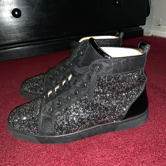 used christian louboutin mens shoes